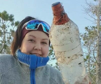 Image: Fant flaskepost i snøen: - Har tatt helt av