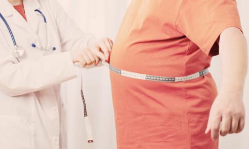 Image: Fem uker - ned ti kilo