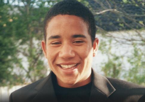 Image: Benjamin (15) drept i pysjen