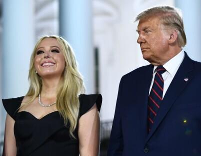 Image: Trump-dattera røper forlovelse