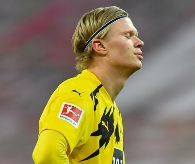Image: Haaland målløs i Dortmund-smell