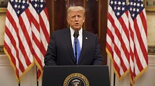 Image: Trump med avslutningstale