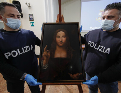 Image: Da Vinci-sjokkfunn i italiensk leilighet