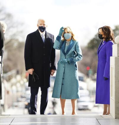 Image: Nå er Biden president