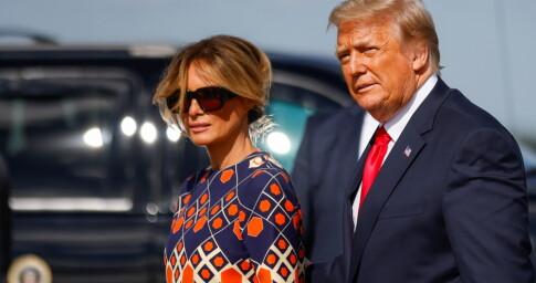 Image: Trump har ankommet Mar-a-Lago