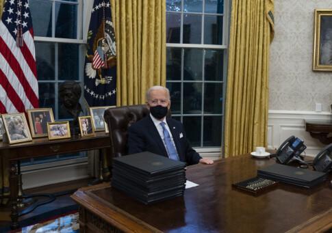 Image: Dette har Biden endret i Det ovale kontor