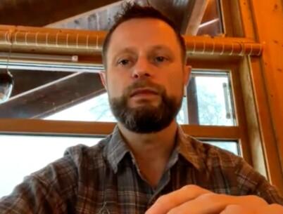 Image: Høie reiser fra hytta