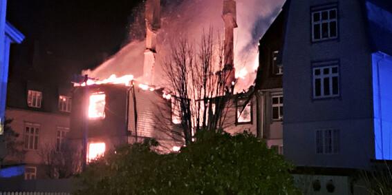 Image: To søstre omkom etter brann