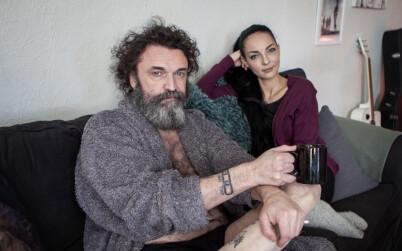 Image: Fant kjærligheten med yngre kvinne