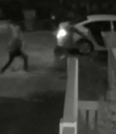 Image: Overvåkningsvideo viser skudd-dramaet