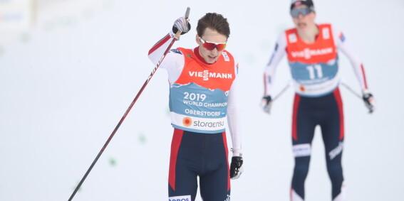 Image: Riiber med VM-gull etter thriller