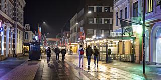 Image: Kristiansand stenger ned