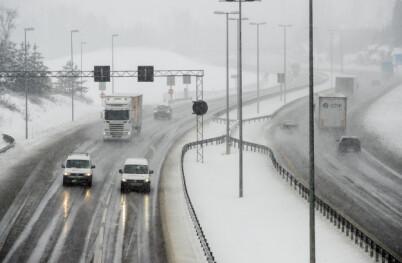 Image: Nå skal snøen lave ned