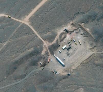 Image: Mistenker israelsk angrep mot atomanlegg