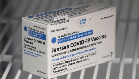 Image: FHI: Janssen-leveranse framskyndet