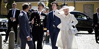 Image: Dronningas kjoleblemme: - Maks uheldig