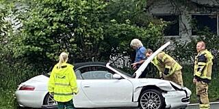 Image: Eggums Porsche krasjet
