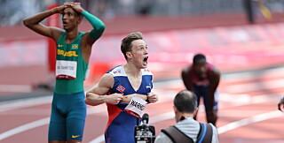 Image: OL-gull og verdensrekord: - Trodde nesten ikke på det