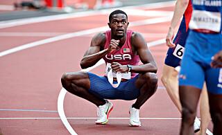 Image: Rai Benjamin: - Beste løpet i OL-historien