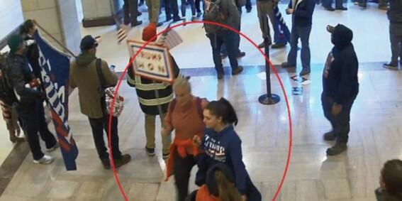Image: Mor og datter pågrepet