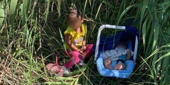 Image: Baby og toåring forlatt: - Hjerteskjærende