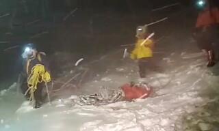 Image: Fem klatrere omkom
