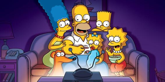 Image: Vil betale deg for å se «The Simpsons»