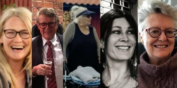 Image: Disse ble drept i Kongsberg