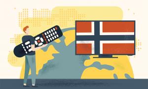 se norsk TV i utlandet