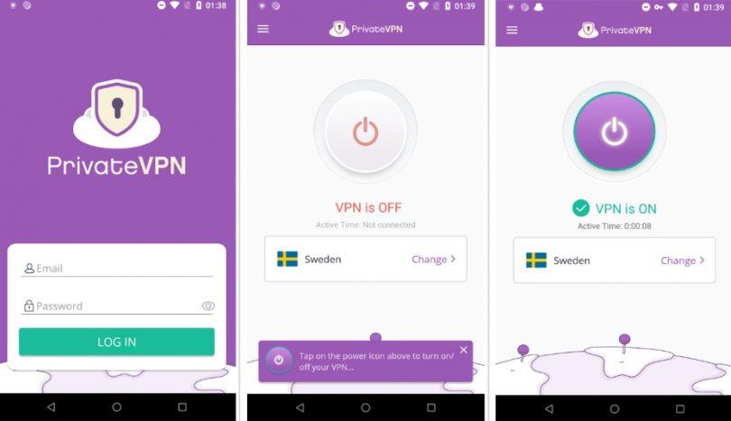 PrivateVPN-For-mobil