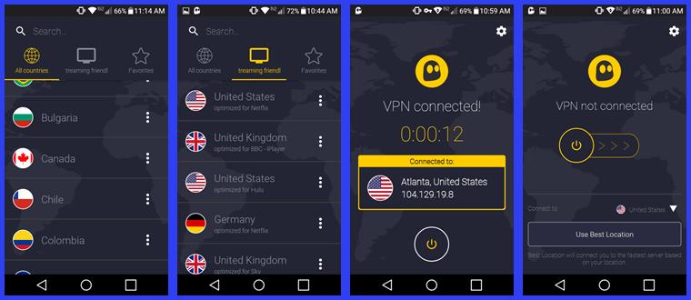cyberghost app setup