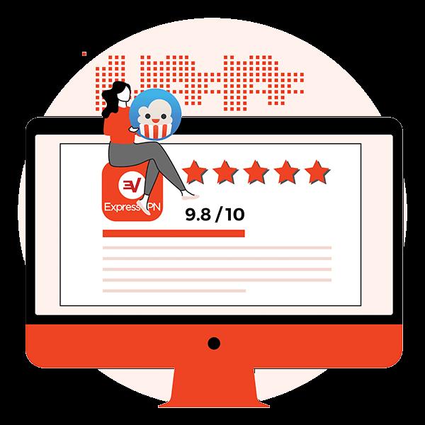 Beste VPN for Popcorn Time